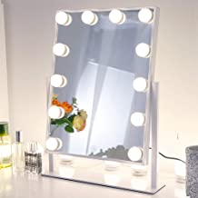 Best white light up vanity Reviews