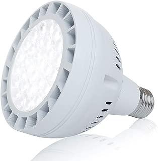 12V 50W LED Pool Light Bulb, 5000LM 6000K Daylight White LED Swimming Pool Light Bulb, Replaces up to 200-800W Traditionnal Bulb(AC/DC)