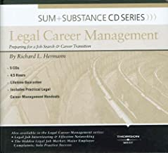 Sum and Substance Audio on Legal Career Management: Preparing for a Job Search