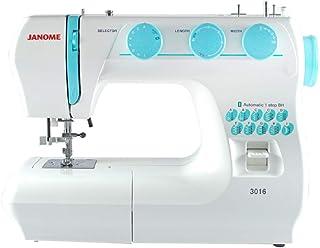 Janome 3016 Maquina de Coser, color blanco