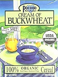 Pocono Organic Cream Of Buckwheat Cereal 13 Oz. (Pack of 6)