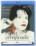 Copia certificada [Blu-ray]