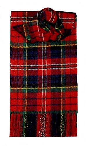 Lochcarron MacPherson Tartan Schottenmuster Lammwollschal