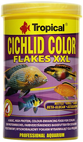 Tropical Cichlid Color Flakes XXL, 1er Pack (1 x 1 l)