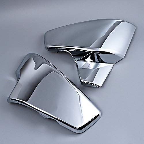 Chrome Battery Side Cover Compatible with Honda Shadow VLX 600 1999-2008 VT 600 C CD Deluxe 1999-2007