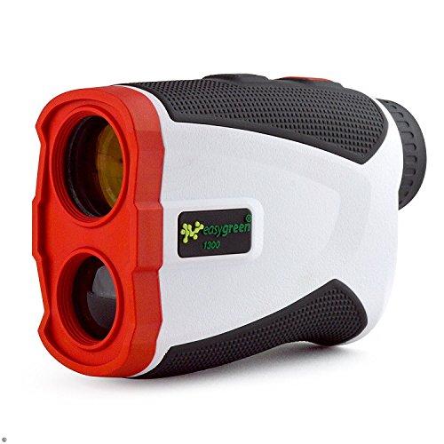 Second Chance Erwachsene 1300 Golf Entfernungsmesser Mit Slope-Switch Technologie (1300 Yard Range), weiß