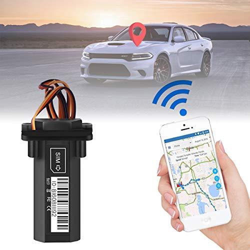 DERCLIVE Mini Impermeable Coche Moto Vehículo GPS Tracker Gt02 Dispositivo de Rastreo de Localizador gsm Gprs en Tiempo Real Negro