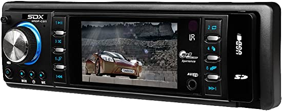 SDX Audio MRDP-C01 Mechless Multimedia Receiver and Digital Player with 3-Inch TFT Screen