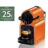 Nespresso Inissia Macchina per caffé espresso, 1260 W, 0.7 L, Arancio (Summer Sun)