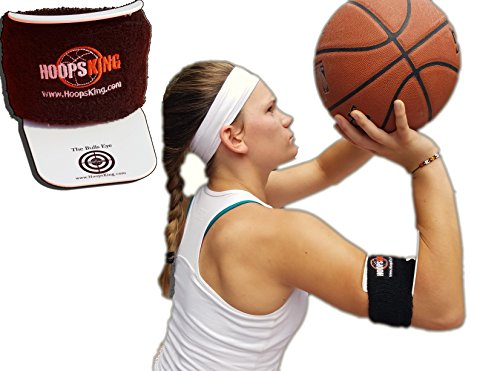 HoopsKing Bullseye Basketball Shooting Training Aid, Perfect Form Every Time