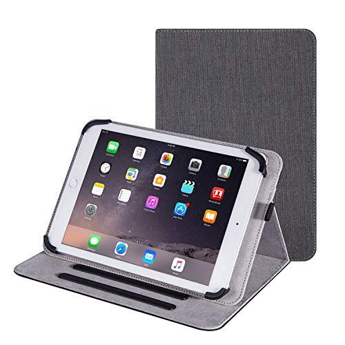 Funda universal para tablet de 10,1 pulgadas, compatible con iPad Air 3, iPad Pro, Samsung Galaxy Tab A7, Huawei MatePad Pro Chuwi Hi10 XR Hi10 X Hi10 Air (gris)