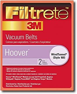 Hoover Windtunnel Self Propelled Style 160 Replacement Vacuum Belts 2 Pack