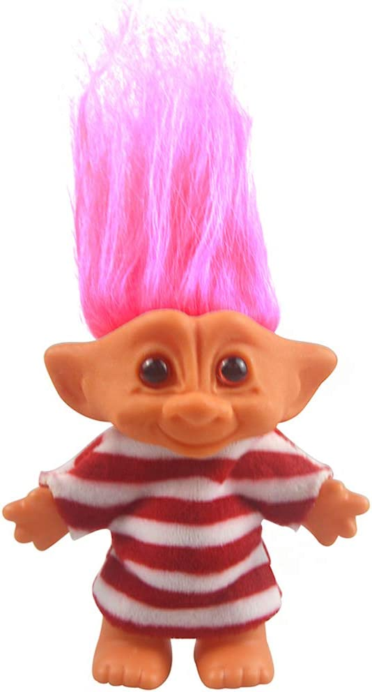 Lucky Troll Dolls Vintage Chromatic Adorable for Genuine Free online shop Shipping Col