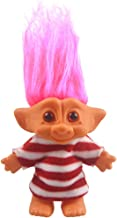 Yintlilocn Lucky Troll Dolls,Vintage Troll Dolls Chromatic Adorable for Collections, School Project, Arts and Crafts, Party Favors - 7.5