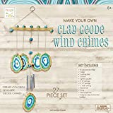 Hapinest Make Your Own Clay Geode Wind Chime Craft Kit Gift for Girls Boys Ages...
