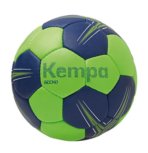 Kempa Gecko Handball Ball, Flash grün/deep blau, 1
