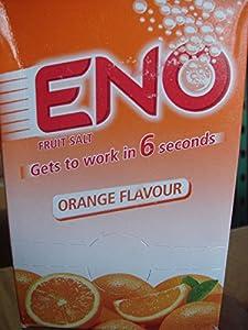 ENO FRUIT SALT ORANGE FLAVOR 30x5gram Sachets Relives Acidity