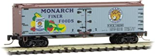 Micro-Trains MTL Z-Scale 40ft Wood Reefer Farm-to-Table #1 Monarch Foods #14290