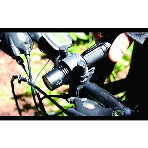 Fenix Sport Lampenhalterung Fahrrad-Halterung ALB-10 Black, STANDARD - 8