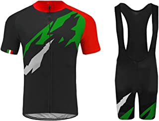 2bd9976d4 Uglyfrog Italia Bandiera Nazionale Colore a Contrasto Body Tuta Ciclismo  MTB Auto da Corsa Completo Bici