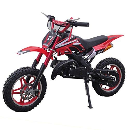 Mini pit bike con motor de 2 tiempos 49cc / mini moto para niños/dirt bike/mini cross de 49cc 2 tiempos, automática.