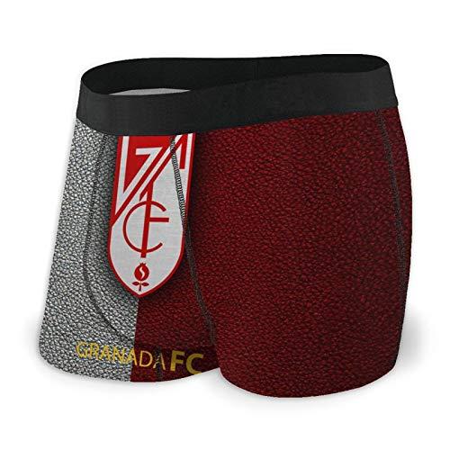 Bdgajdka Gra-Nada Men's Underwear Breathable Stretch Boxer Briefs