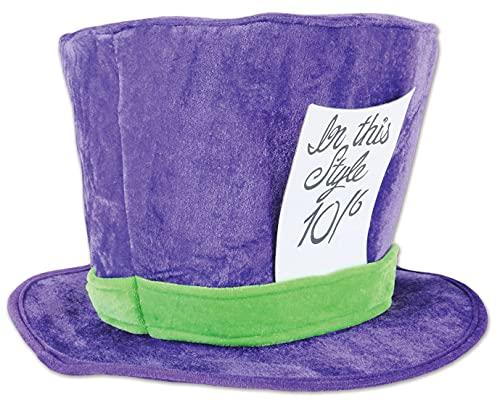Beistle Soft Plush Fabric Mad Hatter Costume...