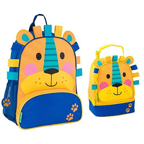 Product Image of the Stephen Joseph Sidekick Lion Backpack and Lunch Box