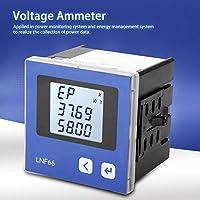 高精度電圧電流ディスプレイ、高調波測定付きのLNF66デジタル多機能電気メーターAC380V 5A 3P4W