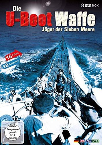 U-Boot Waffe -Deutsches U-Boote im 2. Weltkrieg-Das Boot (8 DVD Schuber)