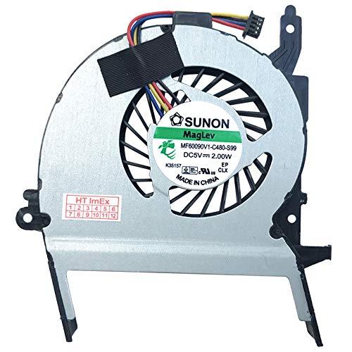 Lüfter Kühler Fan Cooler kompatibel für Asus VivoBook F556, F556UA, F556UQ, X556UR, X556UV, X556UF, X556UJ, X556UQ, X556, X556UA, X556UB, X456