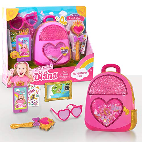 Love Diana Adventure Set, 5-piece role play set, pink, by Just Play