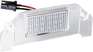 MOFORKIT LED License Plate Light White Compatible with 2005 to 2014 Dodge Charger Chrysler 300, Challenger Magnum Avenger Dart