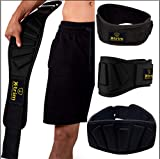 Xtrim Dura Belt-6 inch-Contoured and Ultra-Light Foam Core Weightlifting Belt for Stabilizing Back