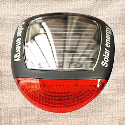 NA Solar Wiederaufladbare Fahrrad Rücklicht hinten Sicherheit LED Rücklicht Rote Lampen im Freien für Fahrrad Rücklicht MEHRWEG