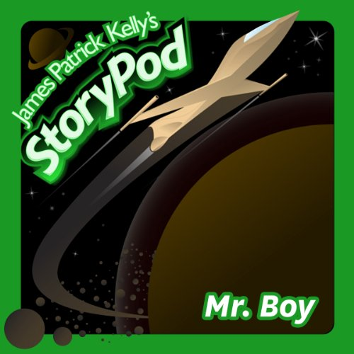 Mr. Boy audiobook cover art