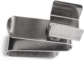 Mini Snooker Queue Kreidehalter Tragbarer Billiard Pool Kreidetr/äger aus Aluminium mit Magnetischer Bodenabdeckung