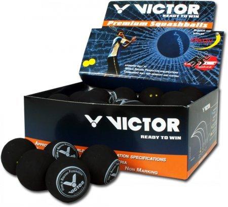 Victor Lot de 6 balles de squash très longues -...