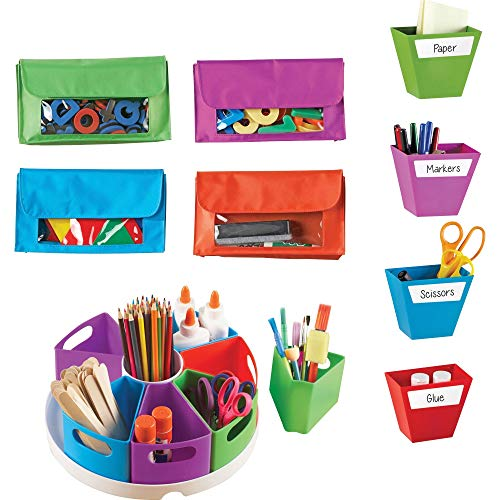 Learning Resources Create-a-Space Storage Bundle, Home School Set, Classroom Accessories, Ages 3+