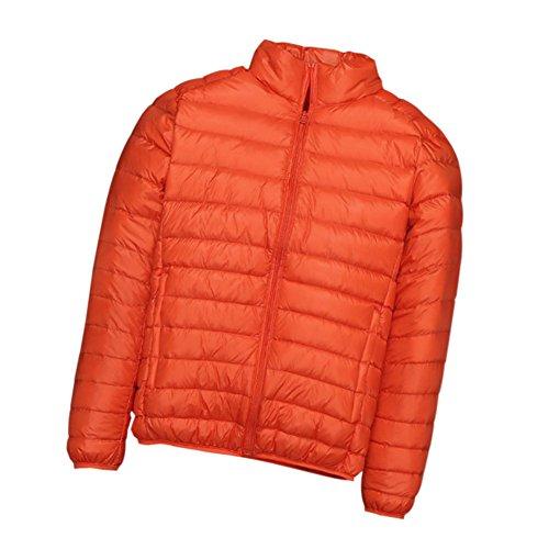 Meijunter Hommes Coupe-Vent Encapuchonné Doudoune Chaud Fermeture éclair Manteau Épais Vêtements d'extérieur Grande Taille