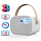 Best 3d Projectors - Mini Projector,Portable 3D Video Projector with Wi-Fi Review