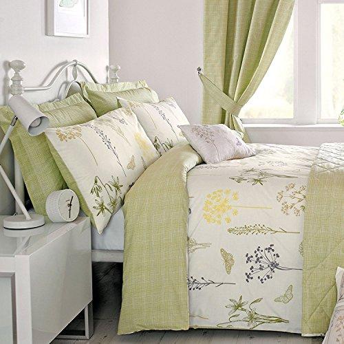 Botanique - Easy Care Duvet Cover Set - Double, Green