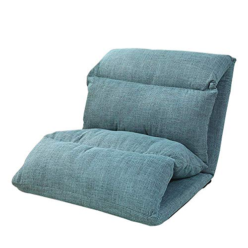 yangsl Bean Bag Chair, Muebles de Espuma viscoelástica Bean Bag - Sofá Grande con Funda Suave de Microfibra (Verde 122cmx81cmx127cm)