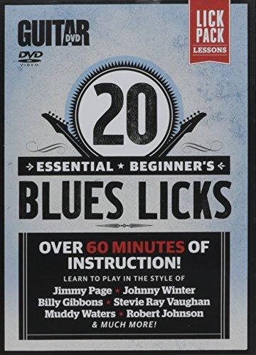 Guitar World -- 20 Essential Beginner's Blues Licks: Over 60 minutes of instruction! (DVD)