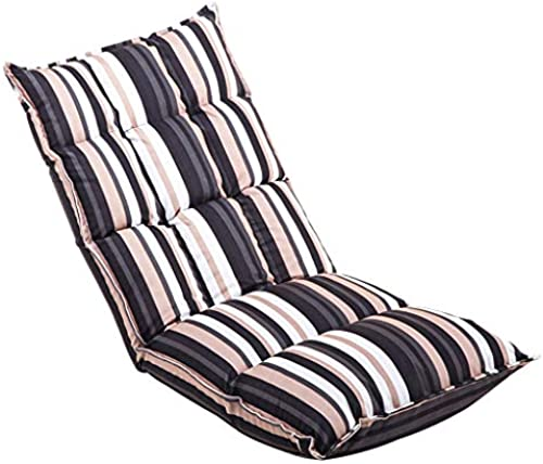 MDBLYJ Lazy Sofa Verstellbare Einzellehnsessel Stuhl Lesen Computer Stuhl Bay Fenstersessel, (Farbe   B)