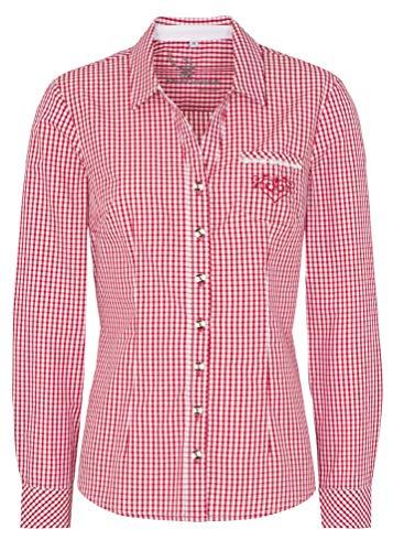 Spieth & Wensky - Karierte Damen Trachten Bluse, Kanada (320682-0948)