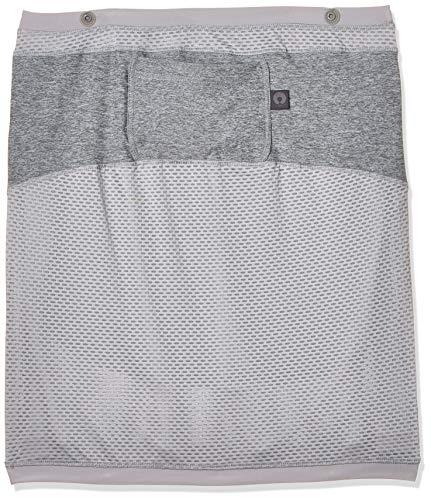 Chicco Boppy 4 und More Multi-Use-Cover, multifunktionales Tuch zum Stillen, Babyschale Abdeckung, Schutz im Einkaufswagen, grau