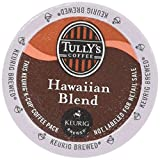 48 Count - Tully's Coffee Hawaiian Blend Coffee K Cup For KEURIG Brewers