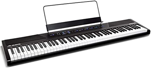 Alesis Recital | 88 Key Beginner Digital Piano / Keyboard with Full Size Semi Weighted..