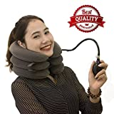 Discount for Close Shop - Buy it Now! Cervical Neck Traction Device by SAULLA - Fixed Neck and Shoulders - frees up Your Neck Pain| You Will Feel Effective in The First use
